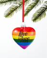 Holiday Lane Love is Love Heart Ornament