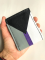 Handmade Demisexual Pride Leather Bi-fold Wallet