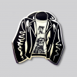 GAYPIN'  Tom Of Finland Leather Jacket Lapel Pin