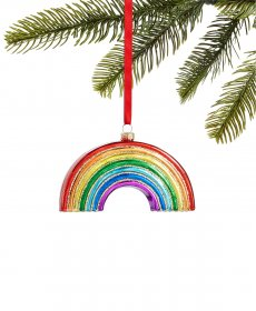 Holiday Lane Love is Love Rainbow Ornament