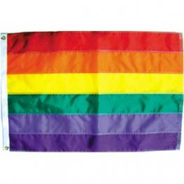 Gay Pride - 2' x 3' Foot Rainbow Sewn Nylon Flag