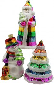 Gay Rainbow Sisters Christmas Pride Collector Set Limited First Edition