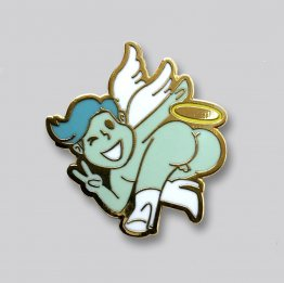 GAYPIN' Angel Booty Lapel Pin
