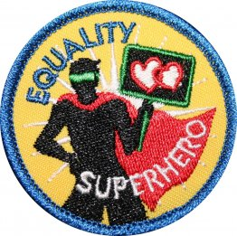 Equality Superhero Badge