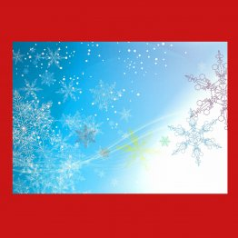 Holiday Creating Card - Snowflakes