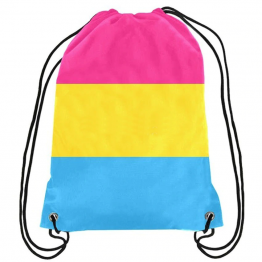 Pansexual Drawstring Bag/Backpack