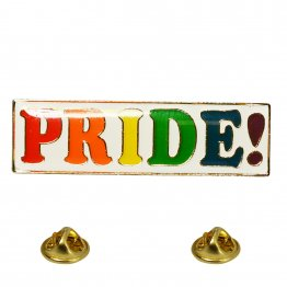 RAINBOW PRIDE! Lapel Pin