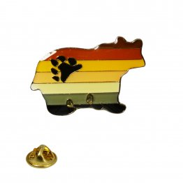 Bear Pride Lapel Pin