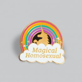 GAYPIN' Magical Homosexual Lapel Pin