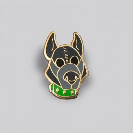 GAYPIN' Puppy Play Lapel Pin