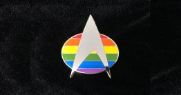 Federation Pride Communicator Pin