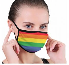 Rainbow Face Mask - Limited Quantity Available NOW SHIPPING
