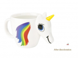 Rainbow Unicorn Temperature Changing Mug