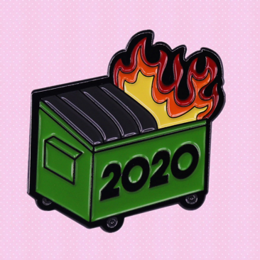 2020 Up In Flames Dumpster Fire