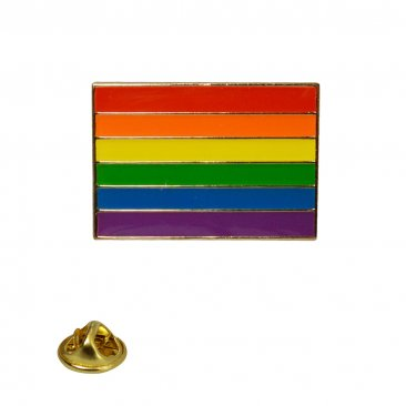 Rainbow Pride Flag Lapel Pin