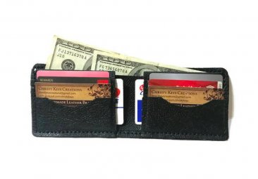 Handmade Leather Pride Leather Bi-fold Wallet